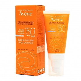 AVENE SOLAR ANTI-EDAD 50+ 50ML